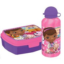 Gift set lunch box and flask