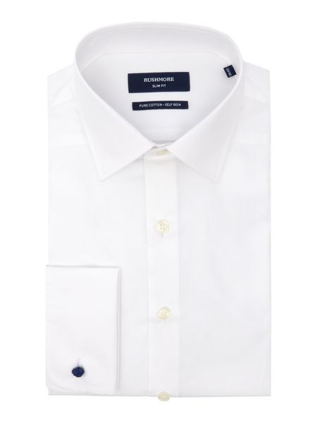 Rushmore Rushmore plain white non iron shirt