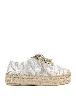 KANNA Path Lace up Espadrilles
