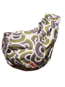 Rockin' Baby Mod Olive  - Reversible Pouch