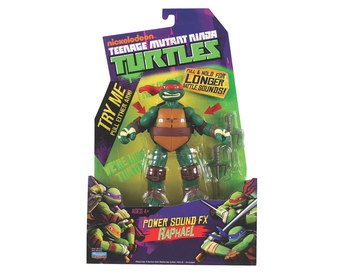 Raphael Power sounds FX figure