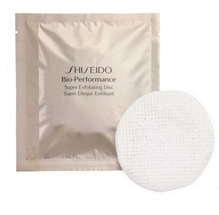 Shiseido 8 bio-performance super exfoliating discs