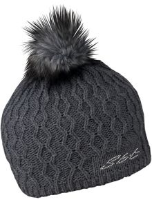 Sabbot Beanie Cable Pom