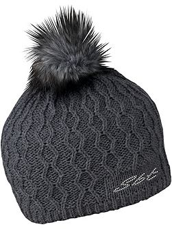 Beanie Cable Pom