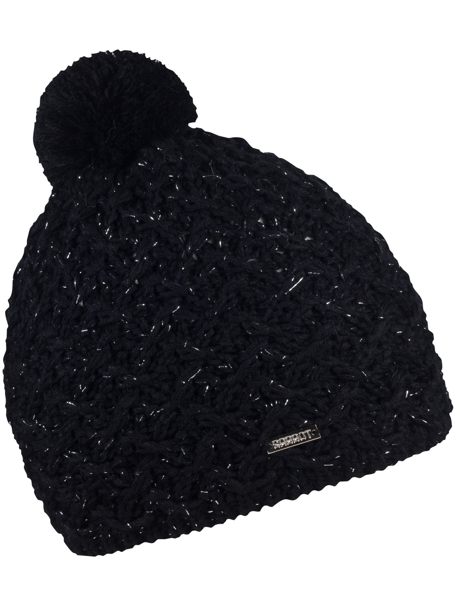 Sabbot Cable Knit Beanie Black