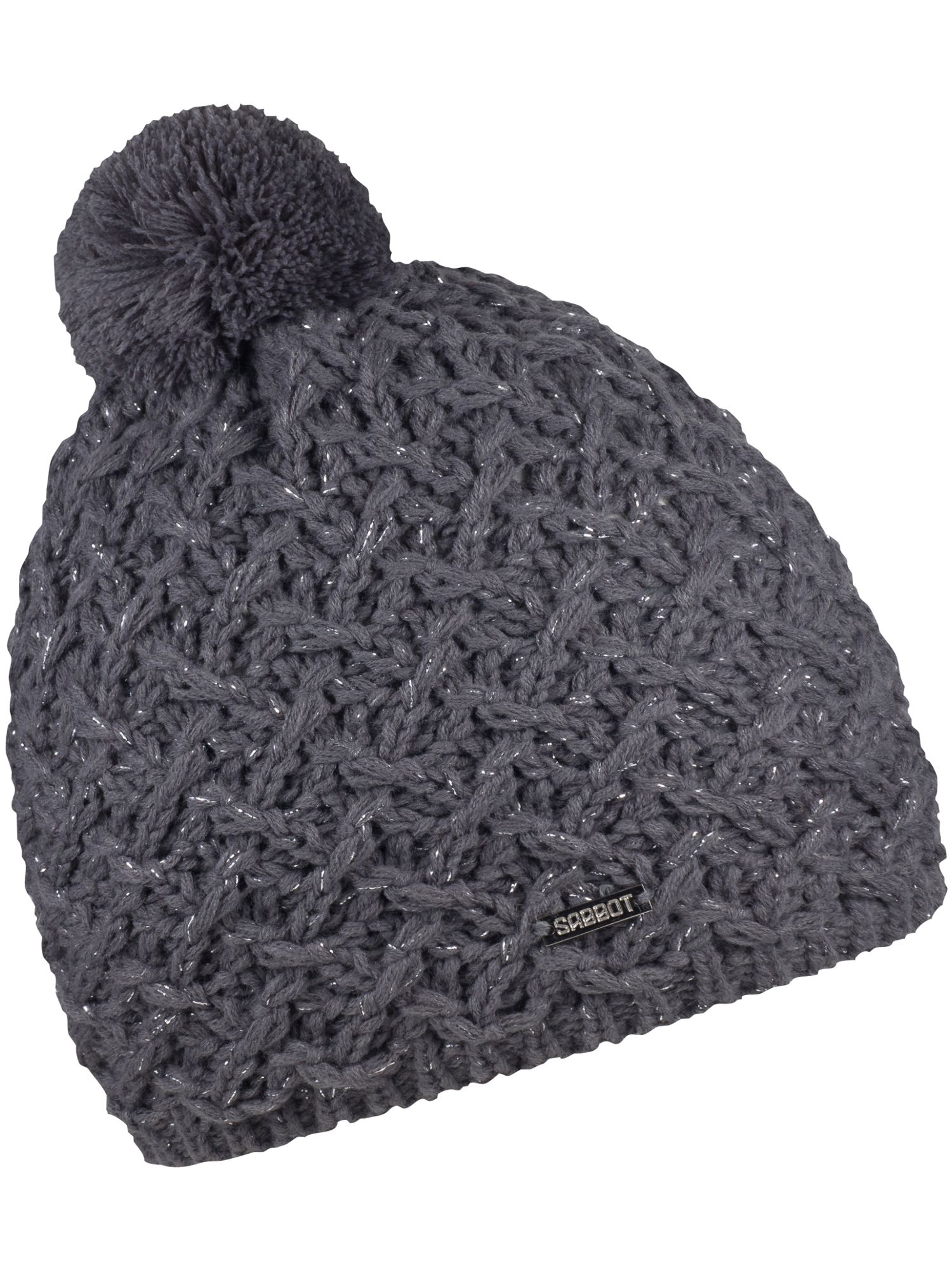 Sabbot Cable Knit Beanie Grey