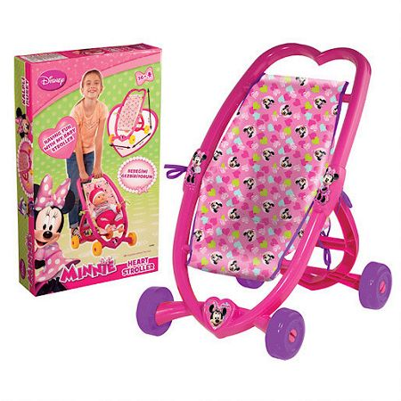 Minnie Mouse Heart stroller