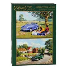 Falcon Deluxe 500 puzzle x2 Summer Times Drives