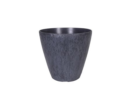 Ivyline Pebble Planter Grey small