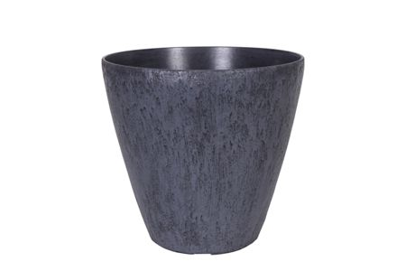 Ivyline Pebble Planter Grey large