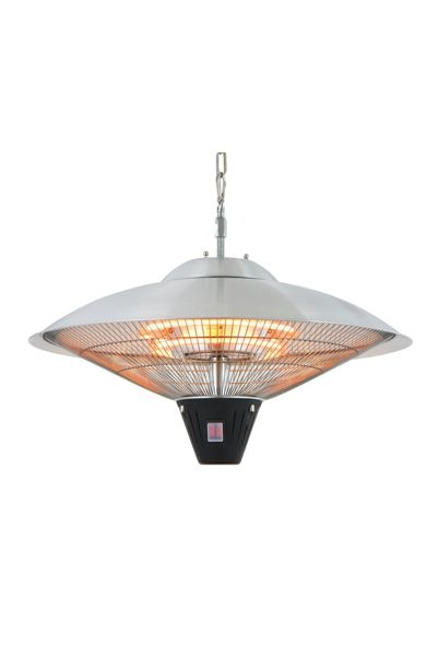 La Hacienda Dome style hanging heater halogen
