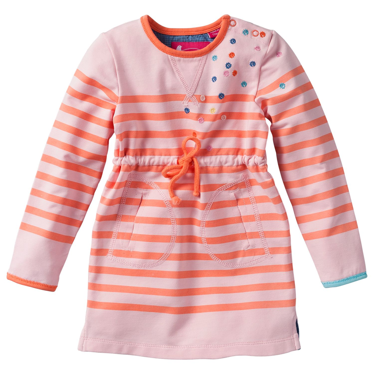 Girl`s mini striped sweat top or dress