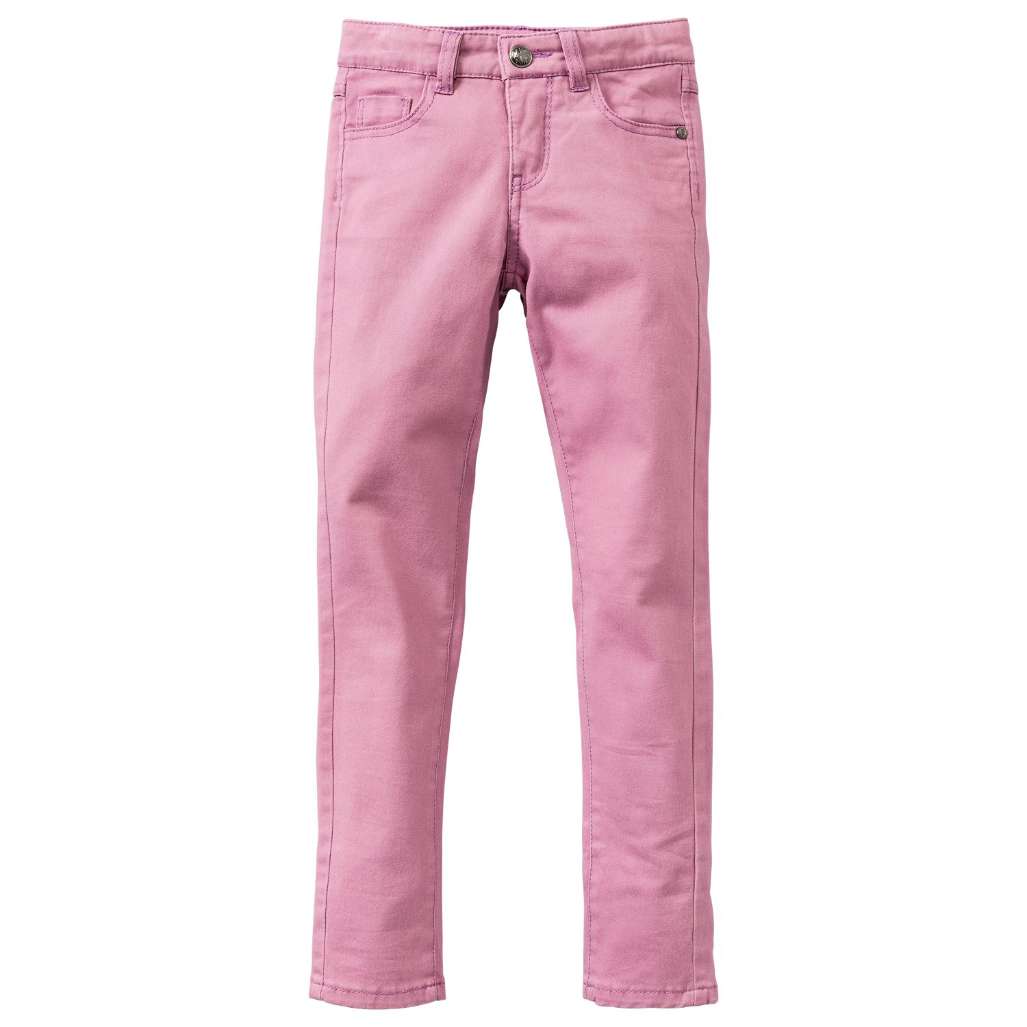 Girl`s plain slimfit pants