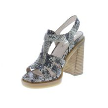 Bronx Flair heel strappy sandals