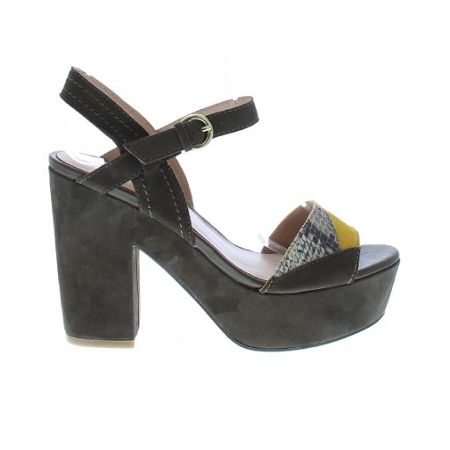 Bronx Platform strap shoes
