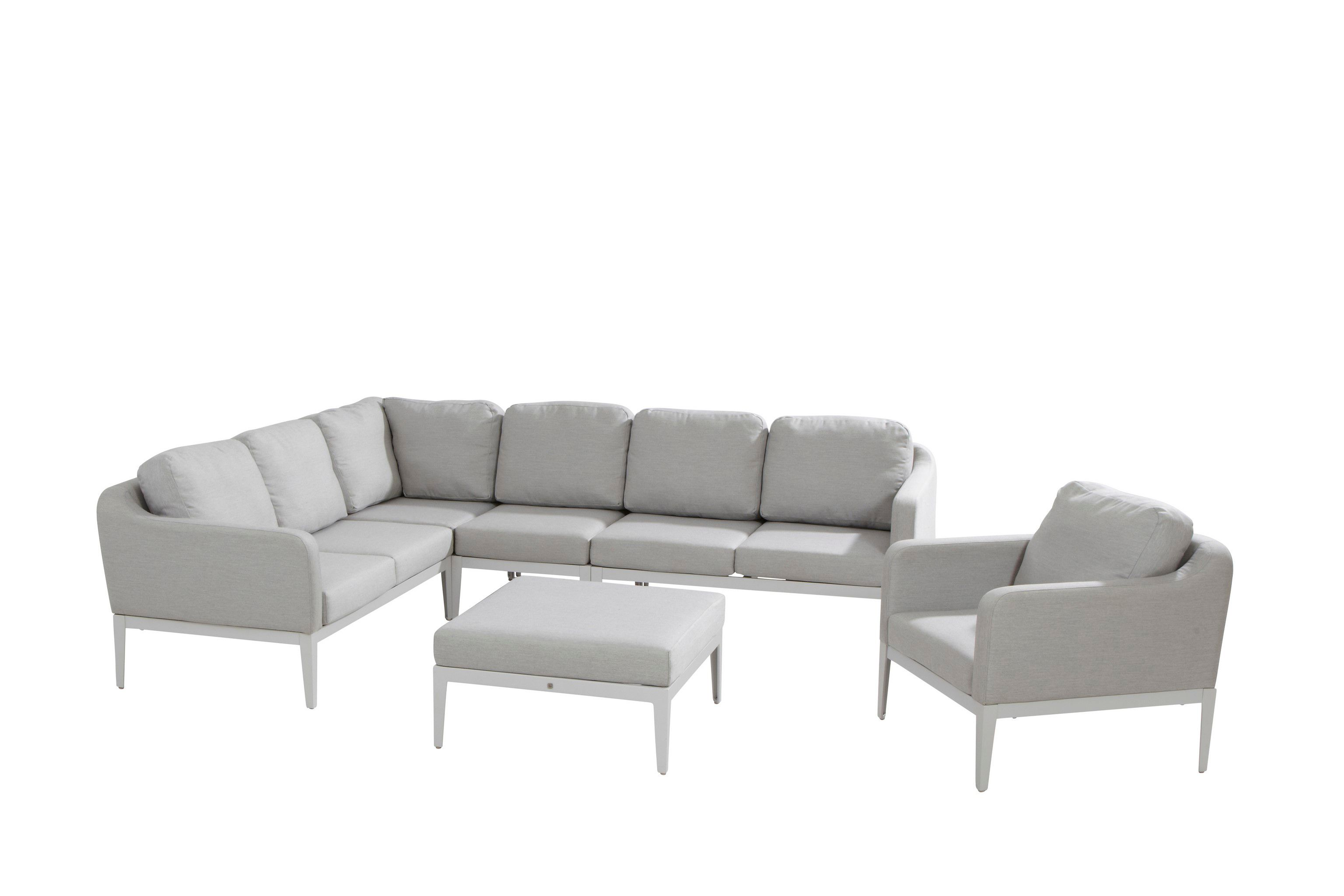 Image of 4 Seasons Outdoor Almeria Luxury Corner Set