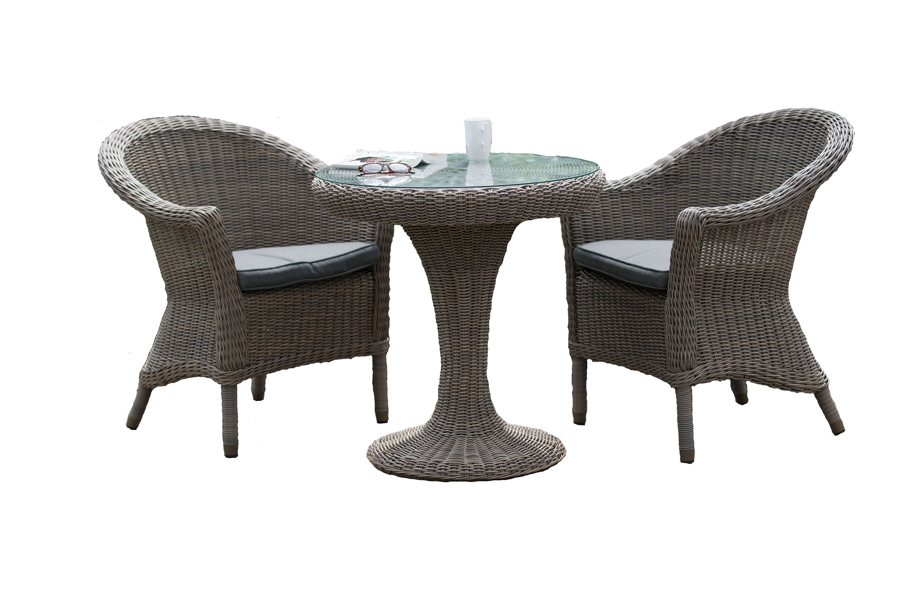 Image of 4 Seasons Outdoor Chester 2 Seater Dining Set
