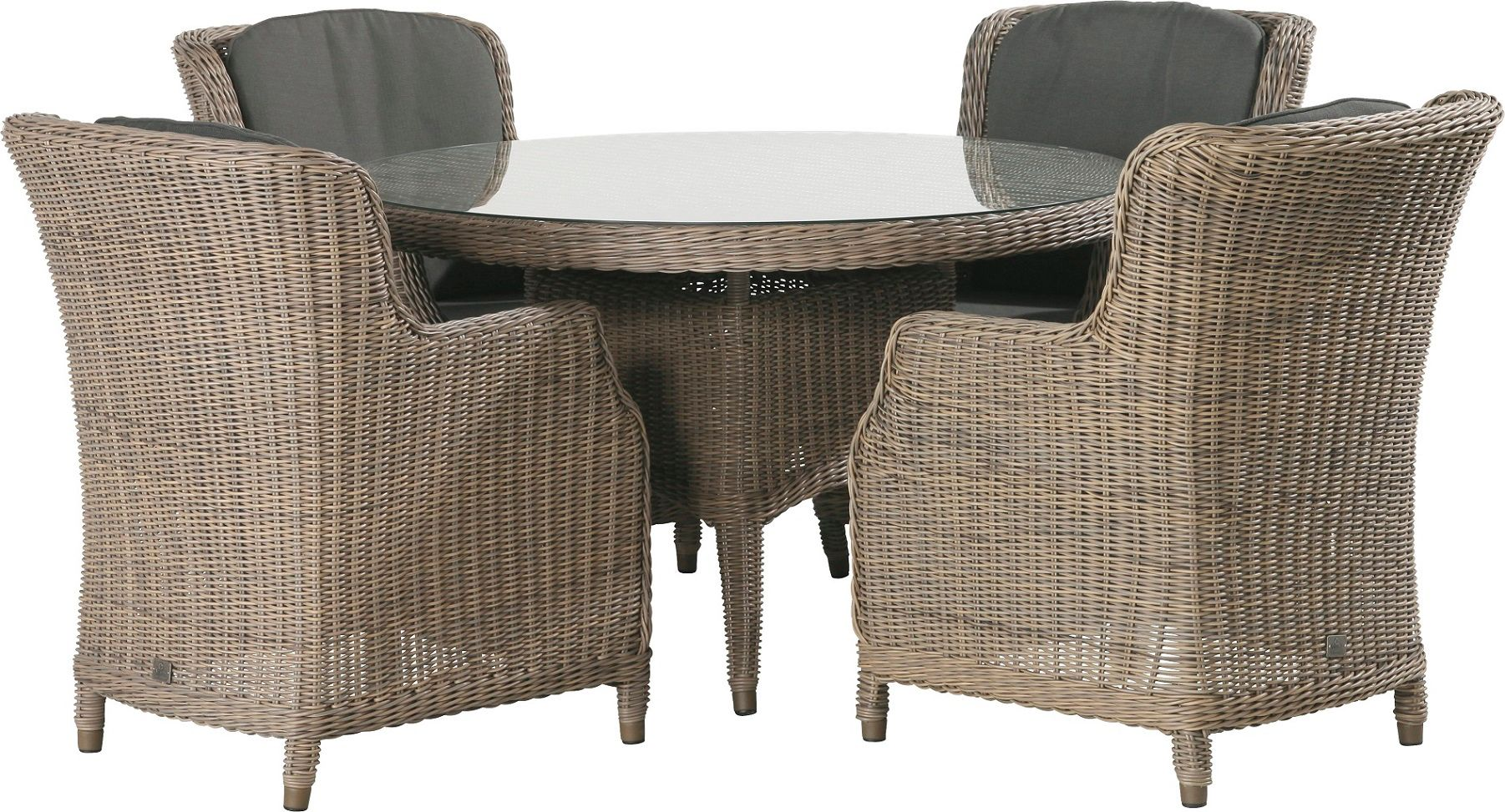 Image of 4 Seasons Outdoor Brighton 4 Seater Dining Set