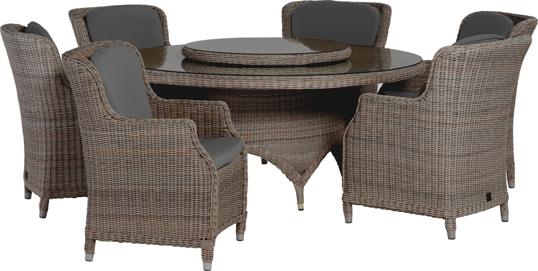 Image of 4 Seasons Outdoor Brighton 6 Seater Dining Set