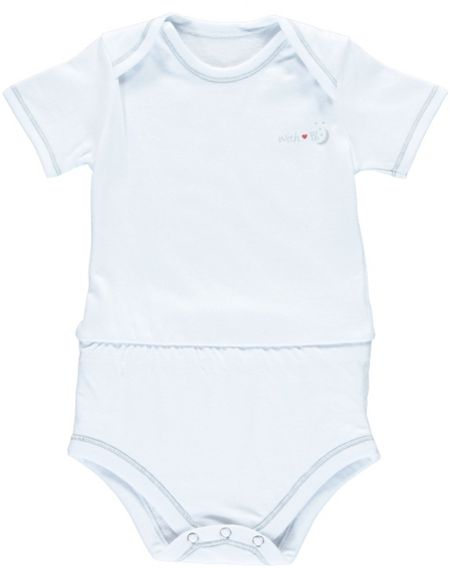 Puckababy Babies Anti Leak Bodysuit