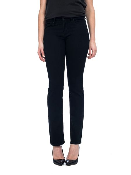 NYDJ Straight In Black Coloured Denim