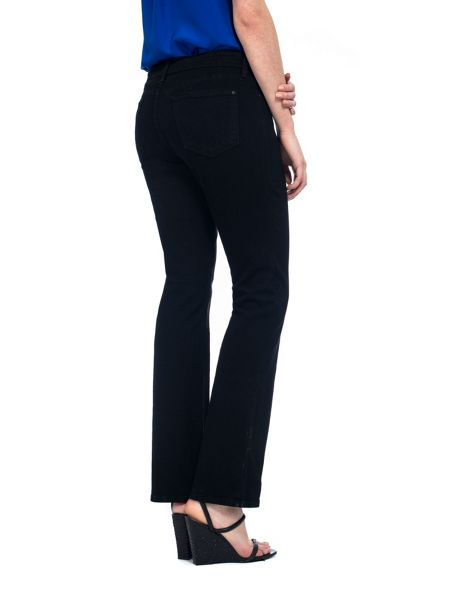 NYDJ Bootcut In Black Coloured Denim Petite