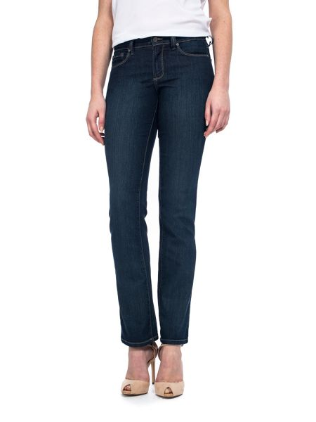 NYDJ Straight In Blue Lightweight Denim