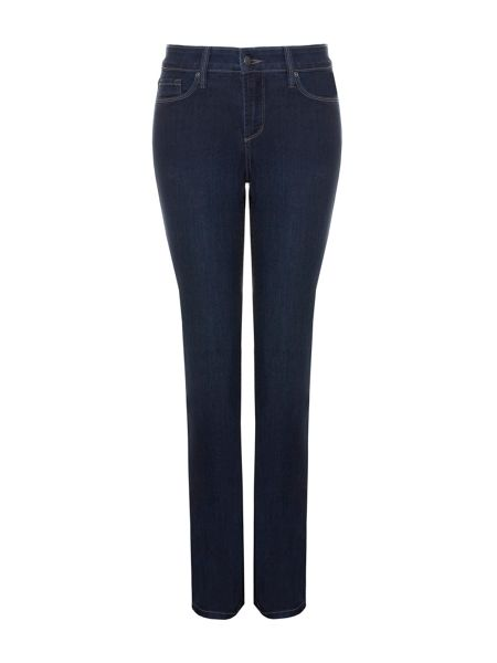 NYDJ Straight In Lightweight Denim Petite
