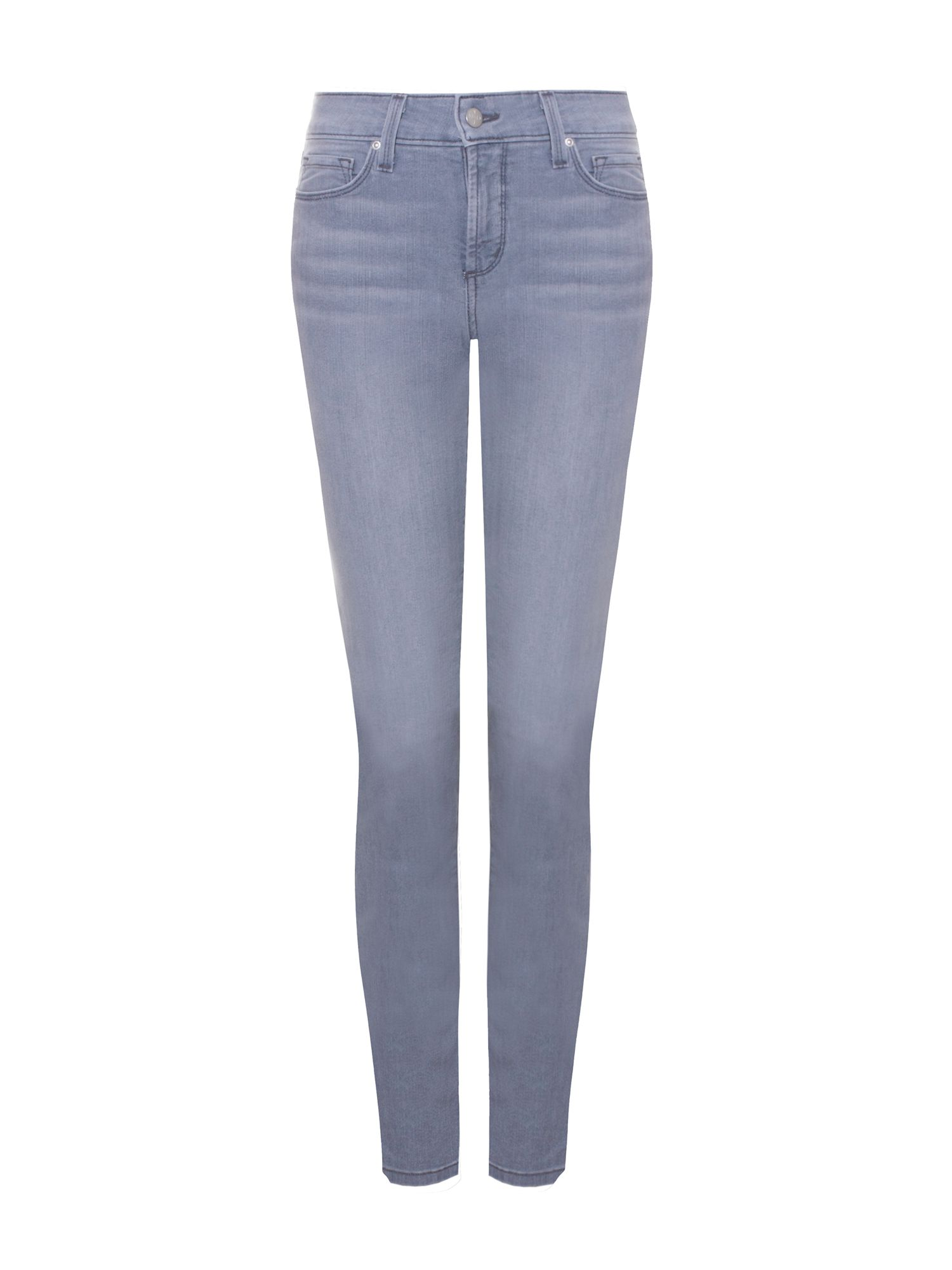 NYDJ Skinny In Lightweight Denim Petite Grey