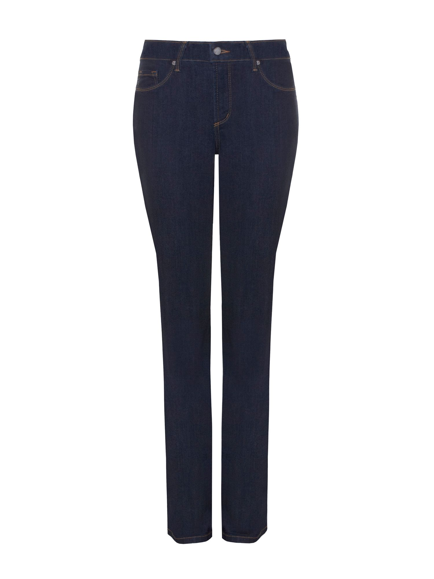 NYDJ Straight In Blue Premium Denim Petite Denim