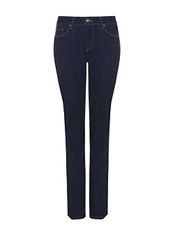 Straight In Blue Premium Denim Petite