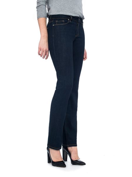 NYDJ Straight In Blue Premium Denim Petite