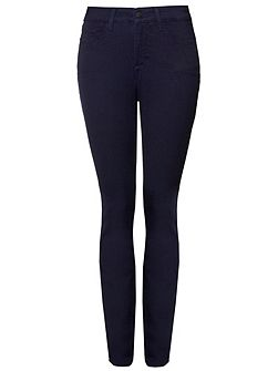 Legging In Dark Blue Lightweight Denim