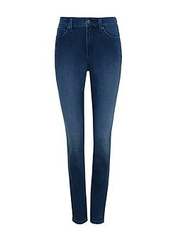 Super Skinny Jogg Jeans In Blue Denim