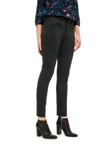 NYDJ Legging With Zip Detail In Black