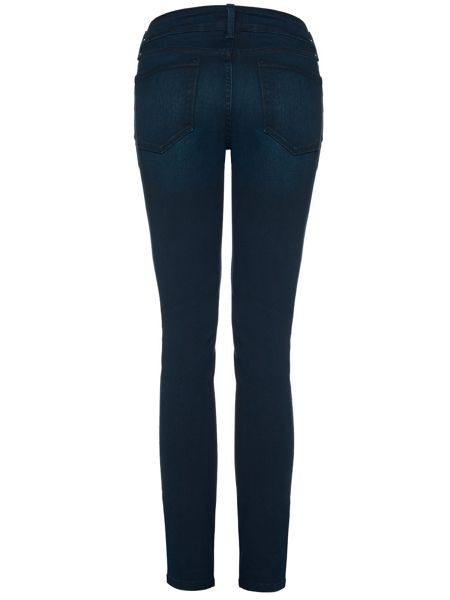 NYDJ Alina Legging In Dark Blue Future Fit Denim