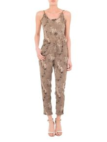 Women multiprint jumpsuit