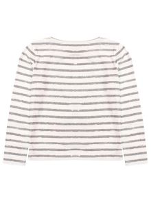 Little Girl Top with Stripes