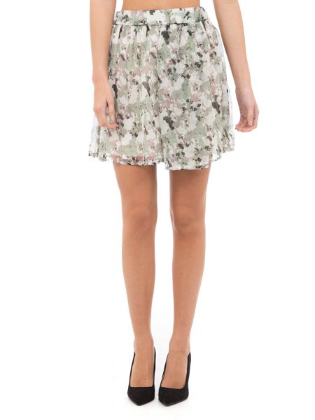 Garcia Lightweight Print Skirt
