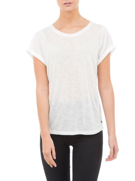 Garcia T-Shirt With Contrasting Sleeves