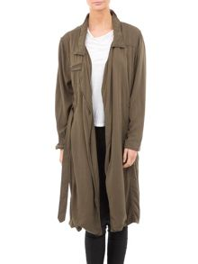 Garcia Full Length Trench Coat