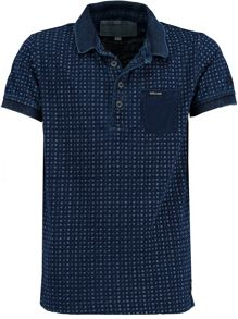 Garcia Boys Spotty Print Cotton Polo Shirt