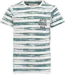 Boys Cotton Stripe T-Shirt