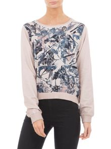 Garcia Cotton Floral Sweater