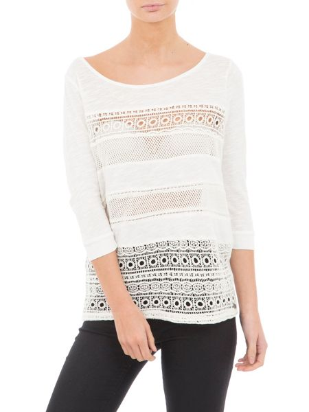 Garcia Cotton Embroidered Top