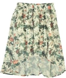 Garcia Girls Floral Mullet Skirt