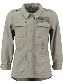 Garcia Girls Outdoor Cotton Jacket