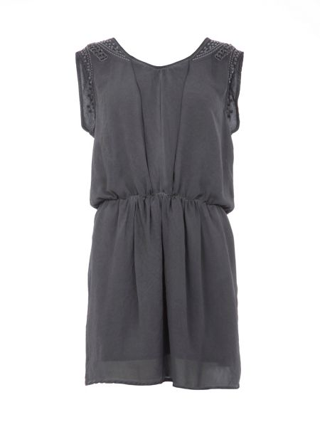 Garcia Dress With Punctured Detailing
