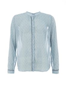 Garcia Sheer Printed Shirt