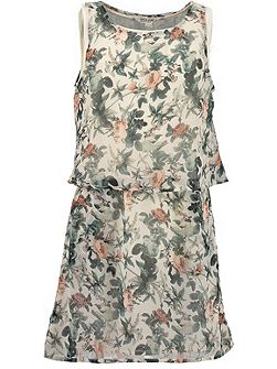 Garcia Girls Floral Print Dress